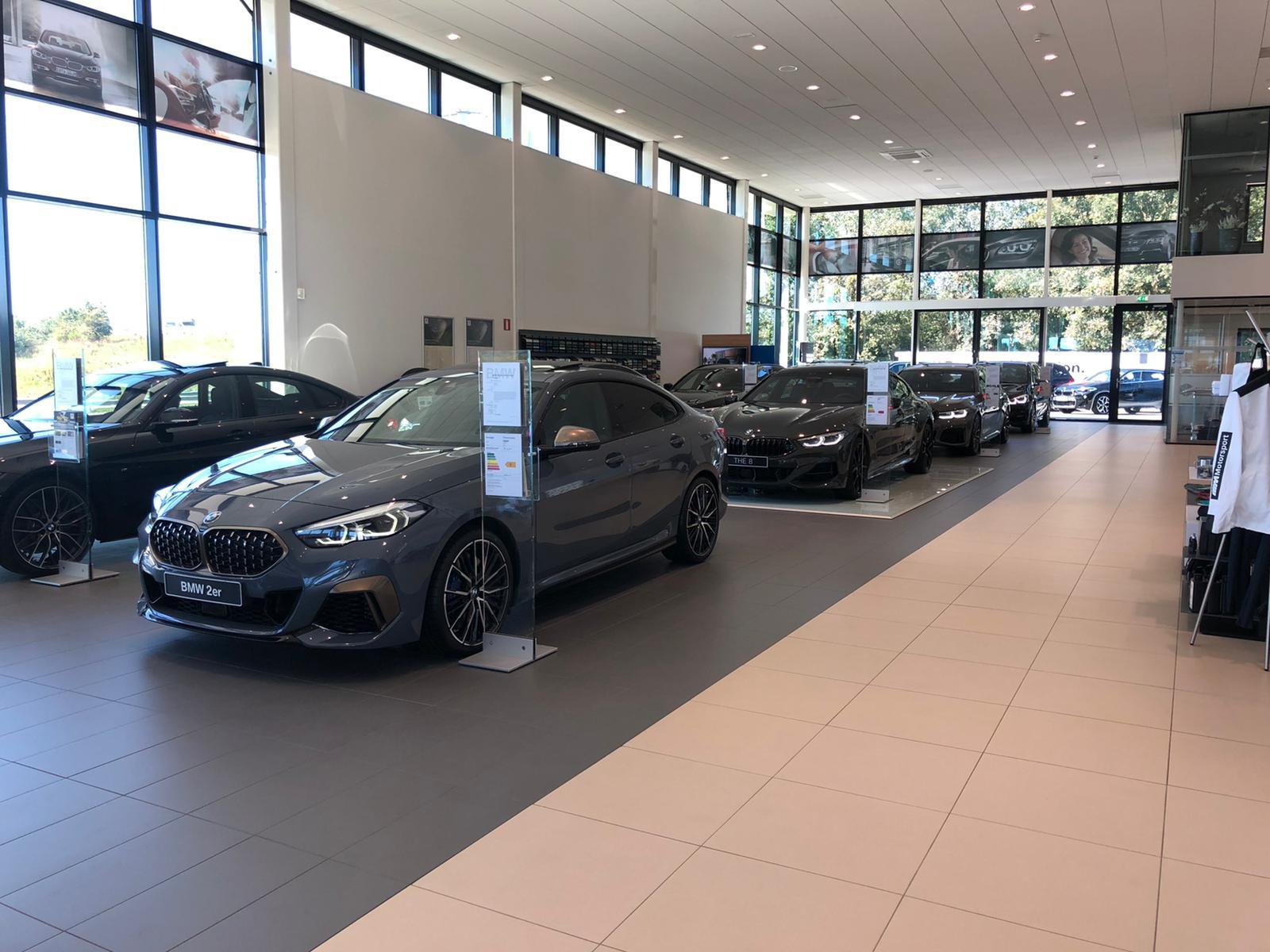 BMW-garage