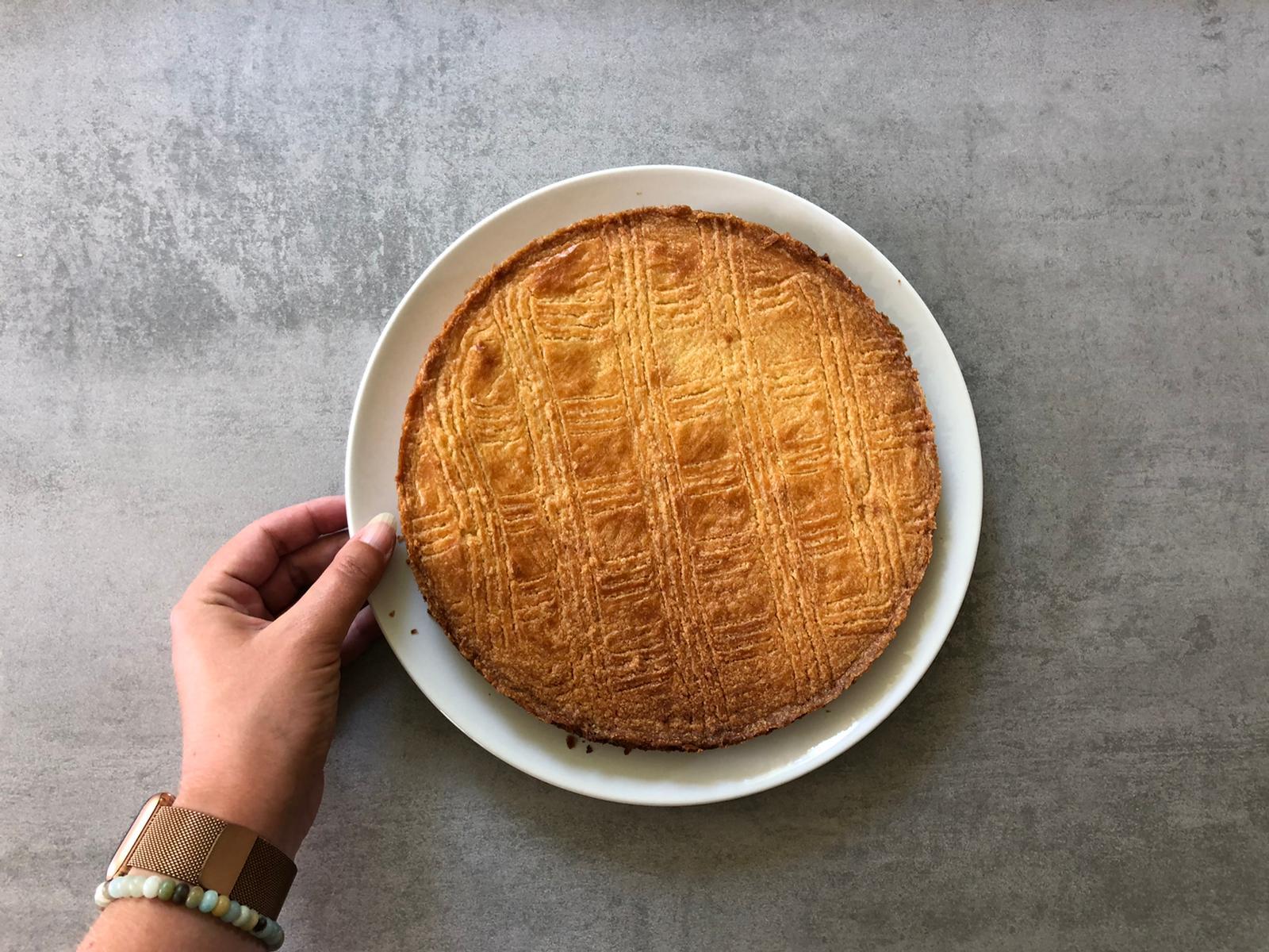 Boterkoek gebakken