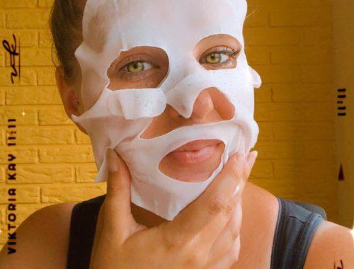 Ik heb een masker opgezet