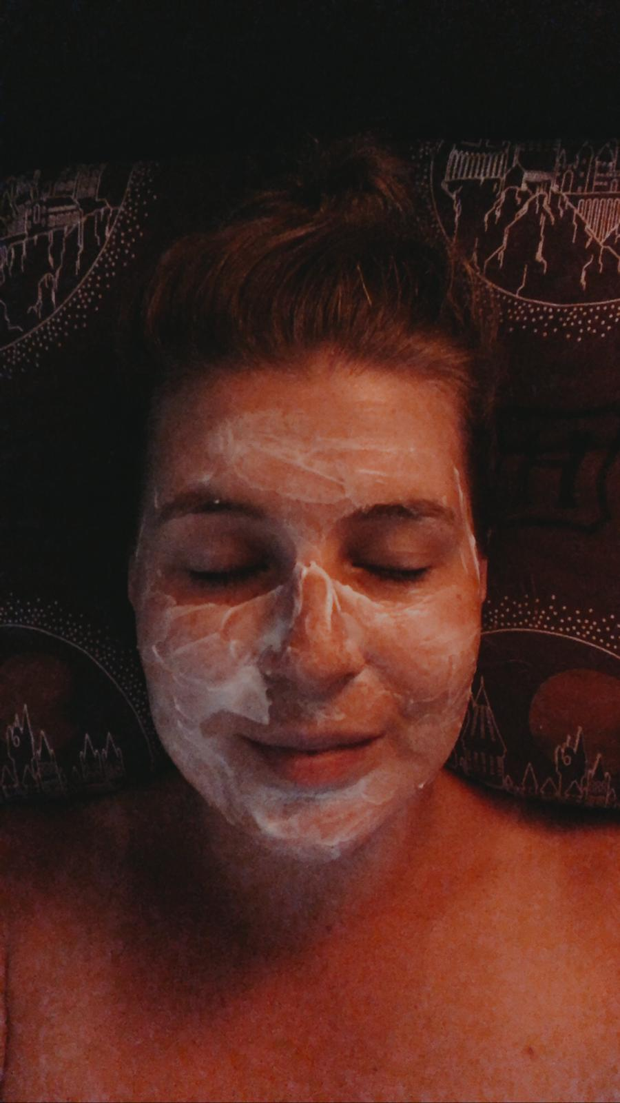 Maskertje op