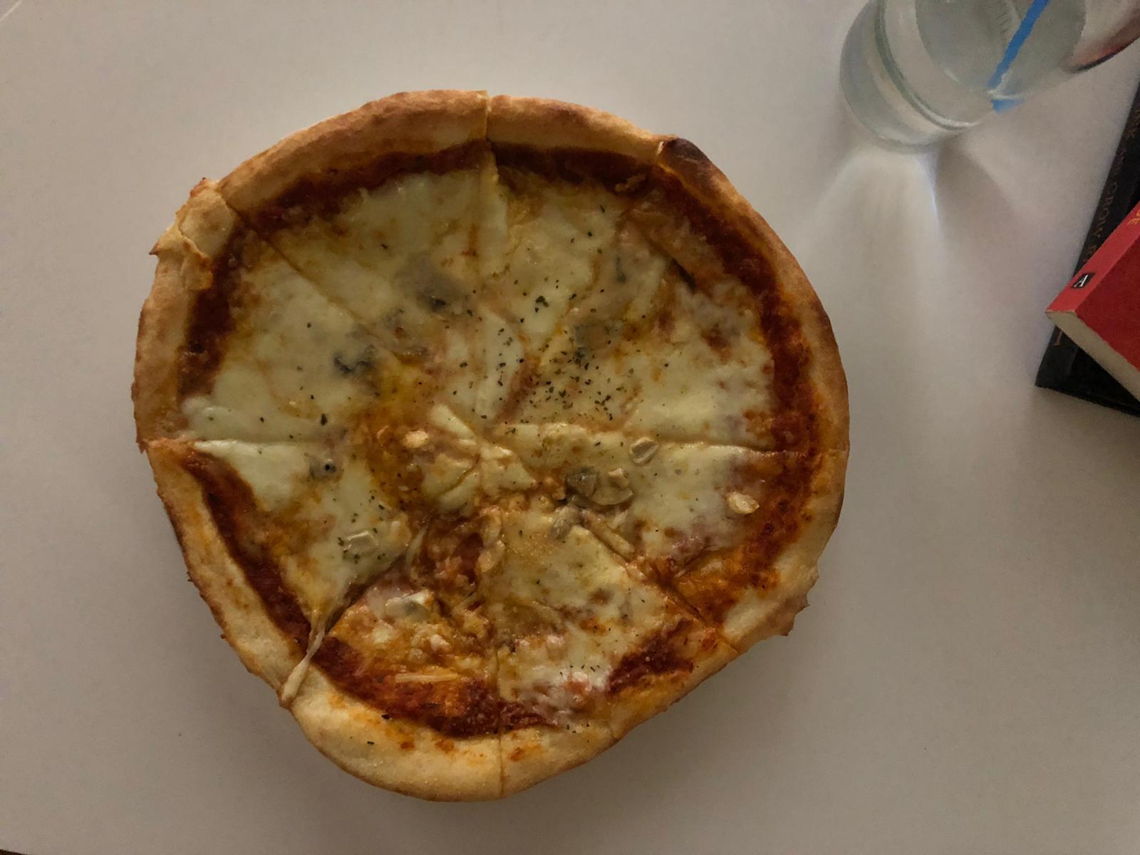 Pizza gehaald