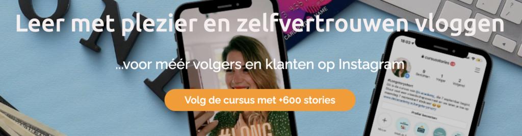 Stories-maken-Instagram-cursus