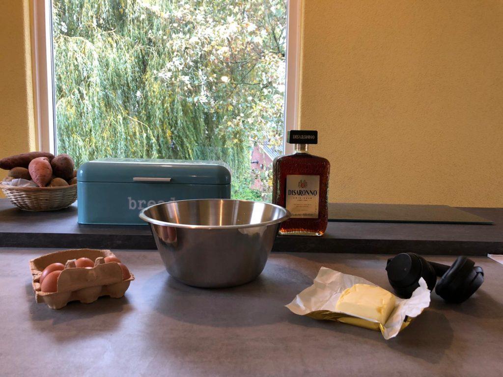 Cake bakken met Disaronno