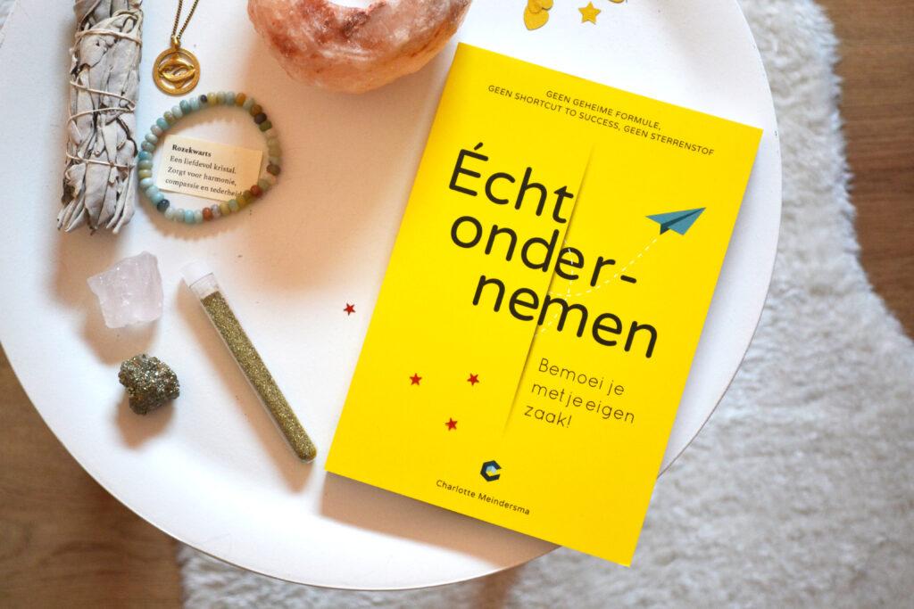 Recensie Écht ondernemen van Charlotte Meindersma